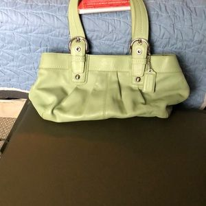6fbaf4cbd068 ... coupon code for coach soho mint green leather shoulder bag 229d6 48faf